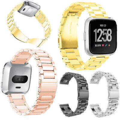 $ CDN18.79 • Buy Stainless Steel Band For Fitbit Versa/Versa Lite Edition/Versa Special Edition
