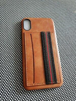 AU13 • Buy Iphone X Case Brown Leather Case With Card Holder