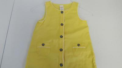 $9.09 • Buy GYMBOREE Bee Chic Waffle Knit Yellow Tunic Sleeveless Shirt Top NWT Size 5 TL2