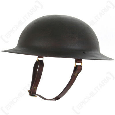 WW1 US M17 Helmet - Aged - Repro American Soldier Army Military Doughboy Steel • 78.95£