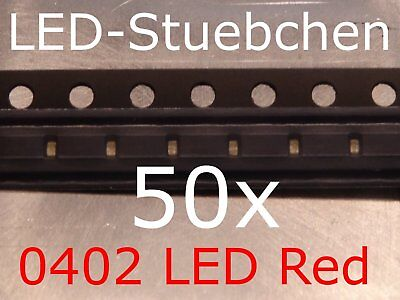 $5.87 • Buy 50x 0402 LED Rot