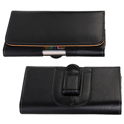 AU8.99 • Buy For SONY Xperia XA1 Ultra Universal Horizontal Belt Clip Leather Pouch Case