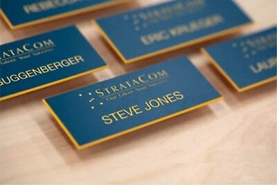£2.49 • Buy Staff ID Name Badges Personalised Name Badges Business ,engraved Acrylic Badges