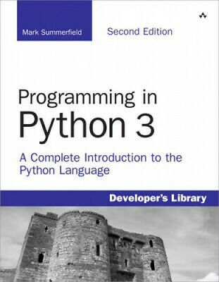 AU147.27 • Buy Programming In Python 3: A Complete Introduction To The Python Language