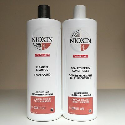 AU84.09 • Buy Nioxin System 4 Cleanser & Scalp Therapy Conditioner 33.8 Oz - Duo Set - New