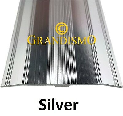 Silve - Extra Wide Carpet Cover Strip - 61mm Width Door Bar Trim Threshold Metal • 9.95£