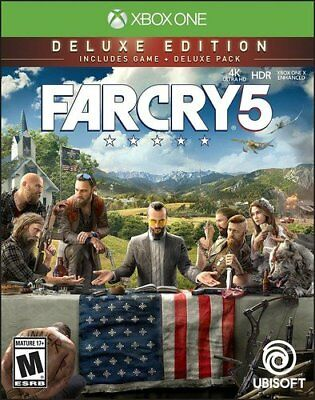 AU109.45 • Buy Far Cry 5 - Xbox One Deluxe Edition