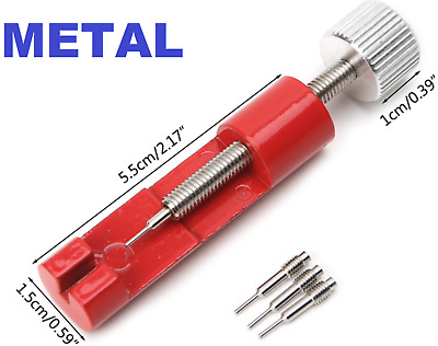 $ CDN5.20 • Buy Metal Adjuster Watch Band Strap Bracelet Link Pins Remover Repair Tools Kit