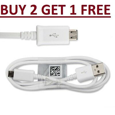 Fast USB Charger Charging Cable For Samsung Galaxy Phone S5 S6 S7 Edge + • 1.99£
