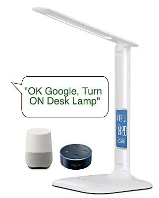 AU56.10 • Buy Smart WiFi Home Office Desk Lamp Light With Google Home Alexa Voice Control
