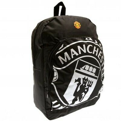 Manchester United Backpack Rucksack School Bag Holdall Official Merchandise RT • 22.99£