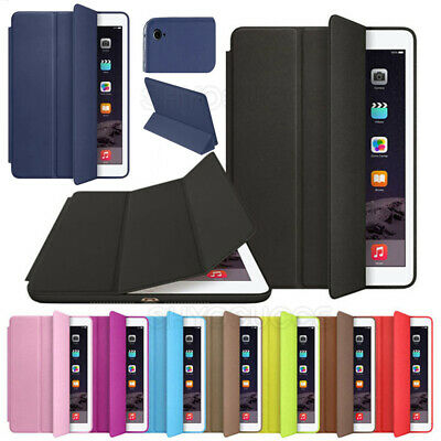 $12.34 • Buy For Apple IPad 6th 9.7  2018/10.2  2019 Genuine Leather Smart Cover Stand Case