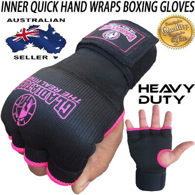 AU9.99 • Buy INNER First Gel Bandages MMA Boxing Inner Quick Hand Wraps Bar Gloves Straps