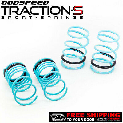 $144 • Buy Godspeed Project Traction-S Lowering Springs For SUBARU IMPREZA WRX GD 2002-03