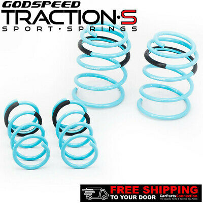 $144 • Buy Godspeed Project Traction-S Lowering Springs For NISSAN MAXIMA A34 2004-08