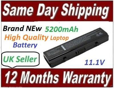 6 Cells For Dell Inspiron 1525 1526 1545 1546 1750 Battery Model GW240 X284G • 21.99£