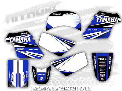 $ CDN131.12 • Buy YAMAHA PW 50 PW50 PEE WEE Graphics Kit Decal Design Stickers Motocross MX Enduro