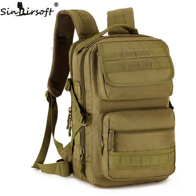AU39.99 • Buy 25L Outdoor Hiking Camping Bag Military Tactical Trekking Rucksack Backpack Camo