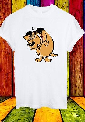 Muttley Dog Smile Mumbly Wacky Races Funny Cartoon Men Women Unisex T-shirt 836 • 6.94£