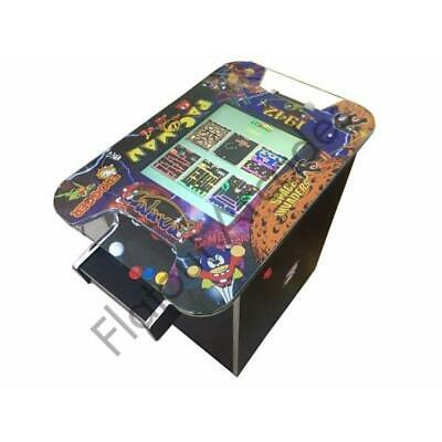 £834.95 • Buy Supercade Arcade Cocktail Table 60 Retro Games 2 Player Gaming Cabinet UK Made