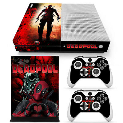 $13.99 • Buy Xbox One S Console Skin Decal Sticker DeadPool + 2 Controller Custom Design Set