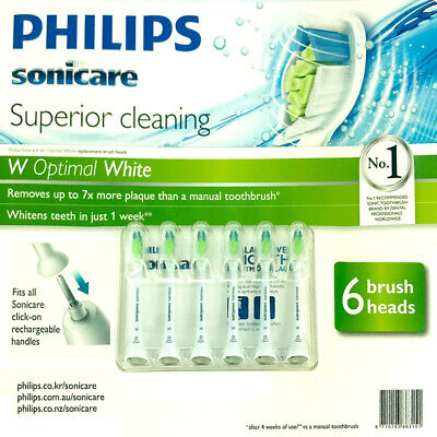 AU67.19 • Buy Philips Sonicare Diamond Clean Replacement Electric Toothbrush Heads 6Pack