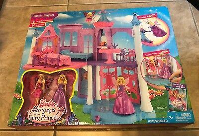 £94.13 • Buy Barbie Mariposa & The Fairy Princess Castle Playset With Mini-Dolls NEW Sealed
