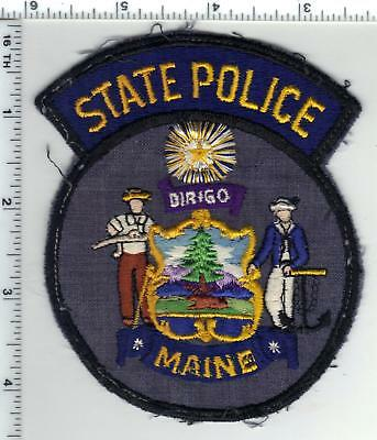 $29.95 • Buy State Police (Maine) Uniform Take-Off Shoulder Patch From The 1970's