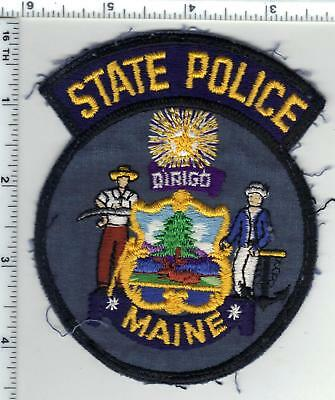 $29.95 • Buy State Police (Maine) Uniform Take-Off Shoulder Patch From The Early 1980's