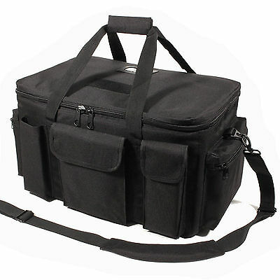 New Protec M25 Black Police Tactical Duty Bag Holdall • 49.95£