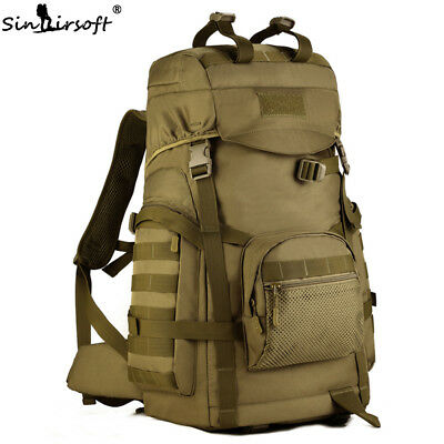 AU72.89 • Buy 60L Waterproof Outdoor Backpack Bags Tactical Hiking Camping Luggage Rucksack AU