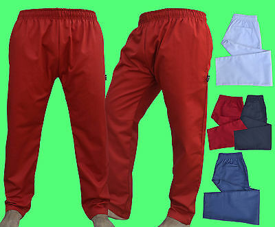 £9.99 • Buy Excellent Quality Chef Trousers Pant With 3 Pockets Available Different Colours