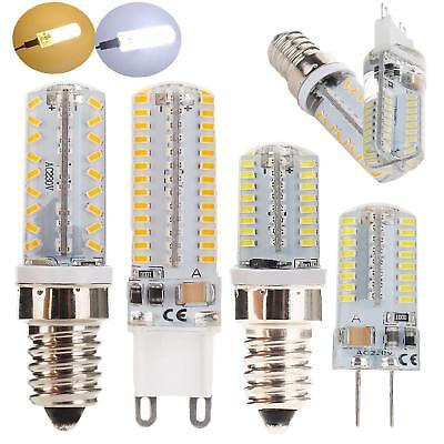 AU2.93 • Buy Mini Dimmable LED Corn Bulb Light G9 G4 E14 E12 6W 8W 10W 3014 SMD Lamp AC 220V