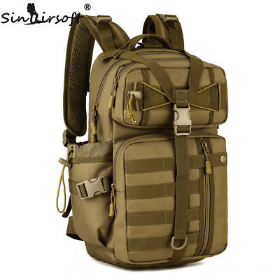 AU41.99 • Buy 35L Outdoor Hiking Military Tactical Backpack Bags Sport Trekking Rucksack Nylon