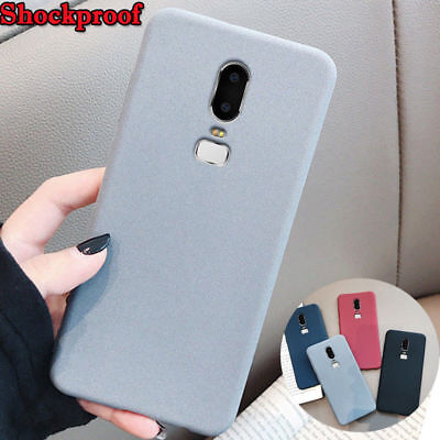 AU3.82 • Buy For OnePlus 6T 5T Shockproof Silicone Slim Soft Rubber Back Sandstone Case Cover