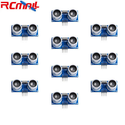 AU18.03 • Buy 10pcs HC-SR04 Ultrasonic Sensor Distance Measuring Transducer Module For Arduino