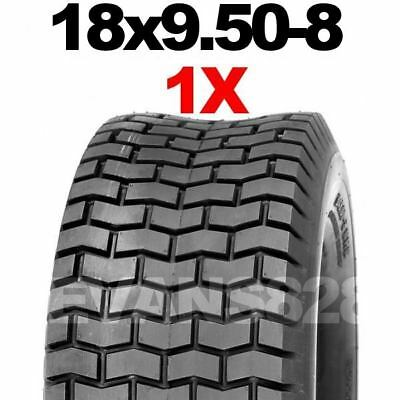 18x9.50-8 Ride On Lawn Mower Garden Tractor Turf Tyres Tyre & Tube Sets 18 950 8 • 35.99£