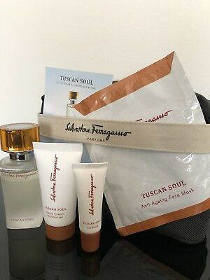 AU75 • Buy Singapore Airlines First Class Amenity ~Tuscan Soul By Salvatore Ferragamo