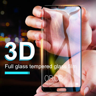 AU4.48 • Buy 9H Full Coverage Tempered Glass Screen Protector For HUAWEI Nova 3i 3e & P20 Pro