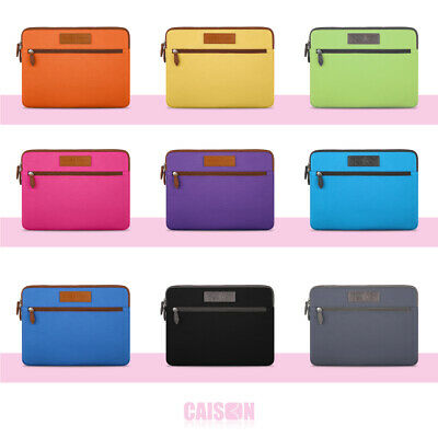 AU16.99 • Buy Tablet Laptop Sleeve Case Bag Cover Pouch For Mircosoft Surface / Book / Pro 4