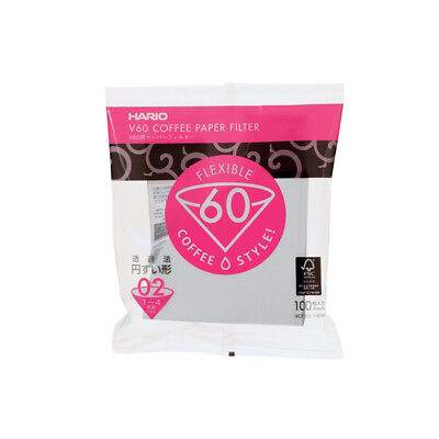 AU22.90 • Buy NEW Hario 2-Cup V60 Filter Papers (100pcs)