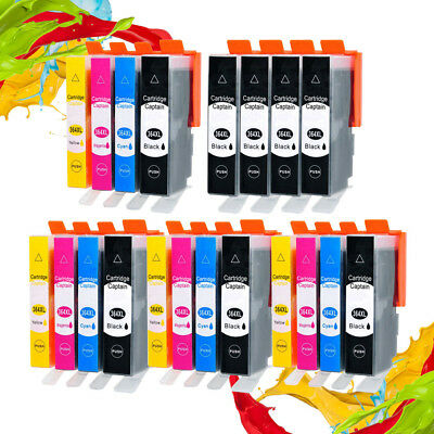 LOT Ink Cartridges Compatible With HP 364XL PhotoSmart 5510 5515 6520 6510 B110a • 7.79£