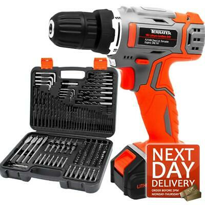 View Details 164pc 18v Cordless Drill Driver Power Lithium-ion Battery Electric Screwdriver • 42.95£