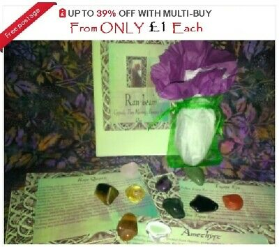 £1.64 • Buy Large Tumble Stones 20mm-30mm Crystal Healing Reiki Chakra Scrying Wicca