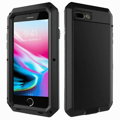 AU19.95 • Buy For Apple IPhone 7 / 8 Plus Shockproof Metal Frame W/Screen Protector Case Cover