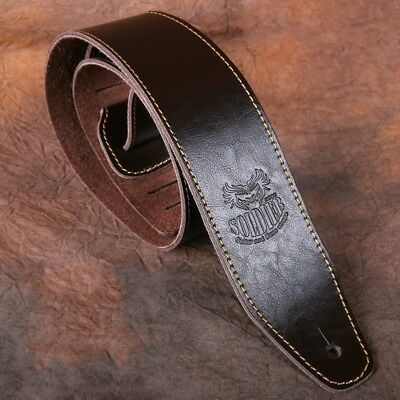 $ CDN34.90 • Buy 1.4M Guitar Strap Real Leather Handmade Vintage Bass Electric Acoustic 4 Colors