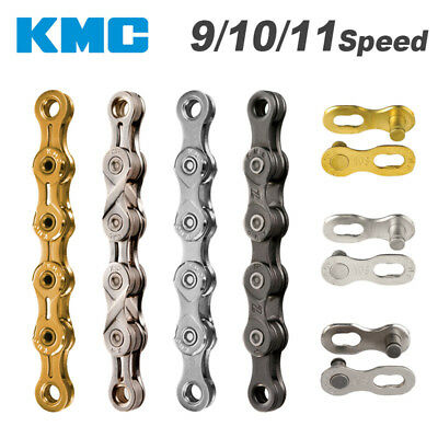 AU26.78 • Buy KMC Chain 116 Links 8/9/10/11 Speed Bike Chain MTB Road Racing Bicycle Chain
