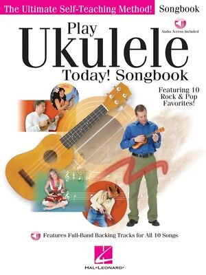 AU22.90 • Buy Play Ukulele Today Level 1 Book Includes Online Media Teach Yourself How To Play