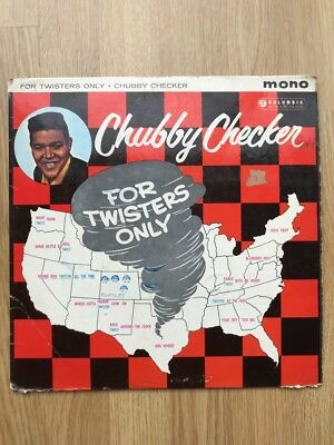 Chubby Checker ‎– For Twisters Only • 13£
