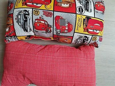 Disney Cars Kid's Travel Cushion  With Soft Kapok Stuffing +contrast Fabric • 10.99£